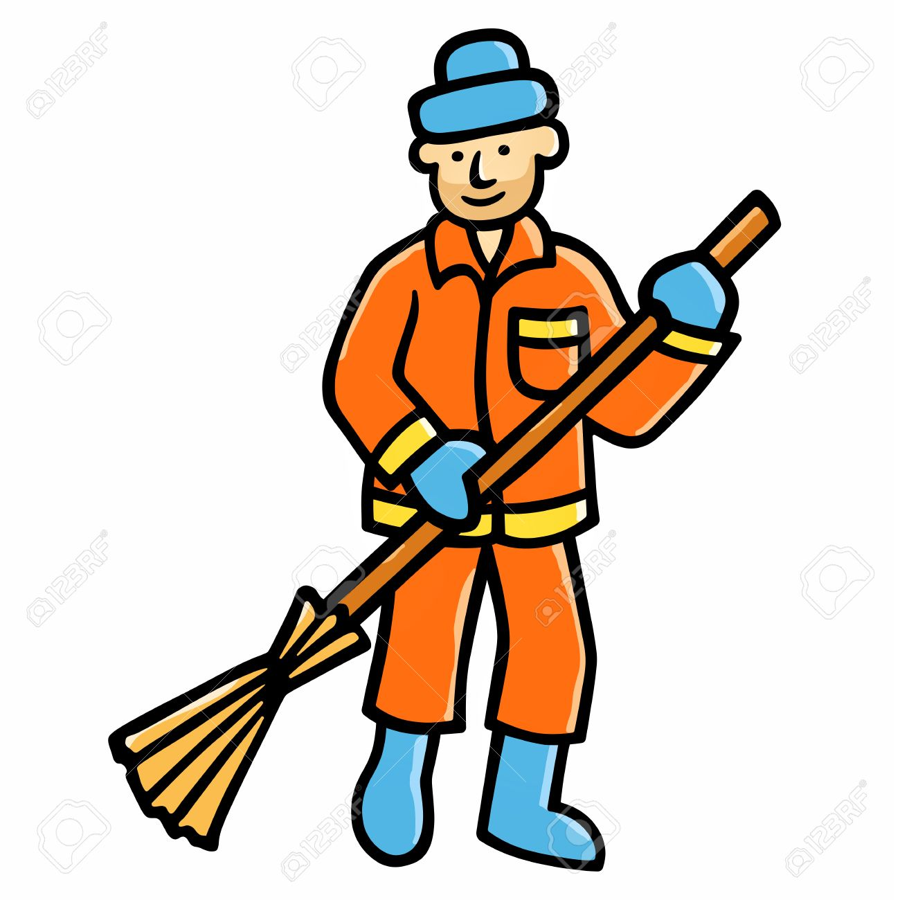 Sweeper clipart banner free library Street sweeper clipart 11 » Clipart Station banner free library