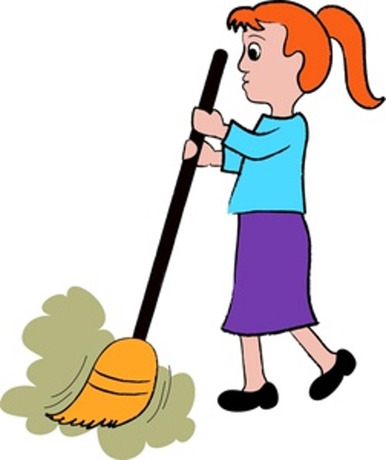 Sweep clipart picture free stock Clipart sweep floor 8 » Clipart Portal picture free stock