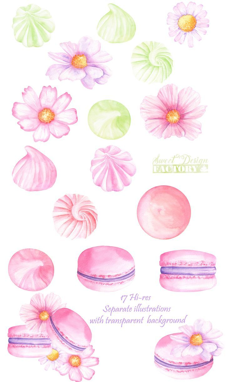 Sweet clipart watercolor