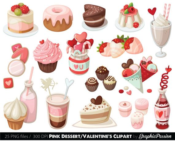 Sweet dessert clipart clip art free stock Pin by Pastel Puddin\' on Artwork I Admire in 2019 | Cake ... clip art free stock