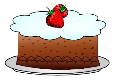 Sweet foods clipart graphic Sweet foods clipart 4 » Clipart Portal graphic