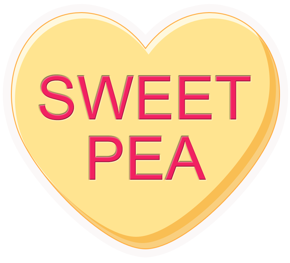 Sweet heart clipart vector royalty free library Conversation Hearts – POP Studios Props vector royalty free library