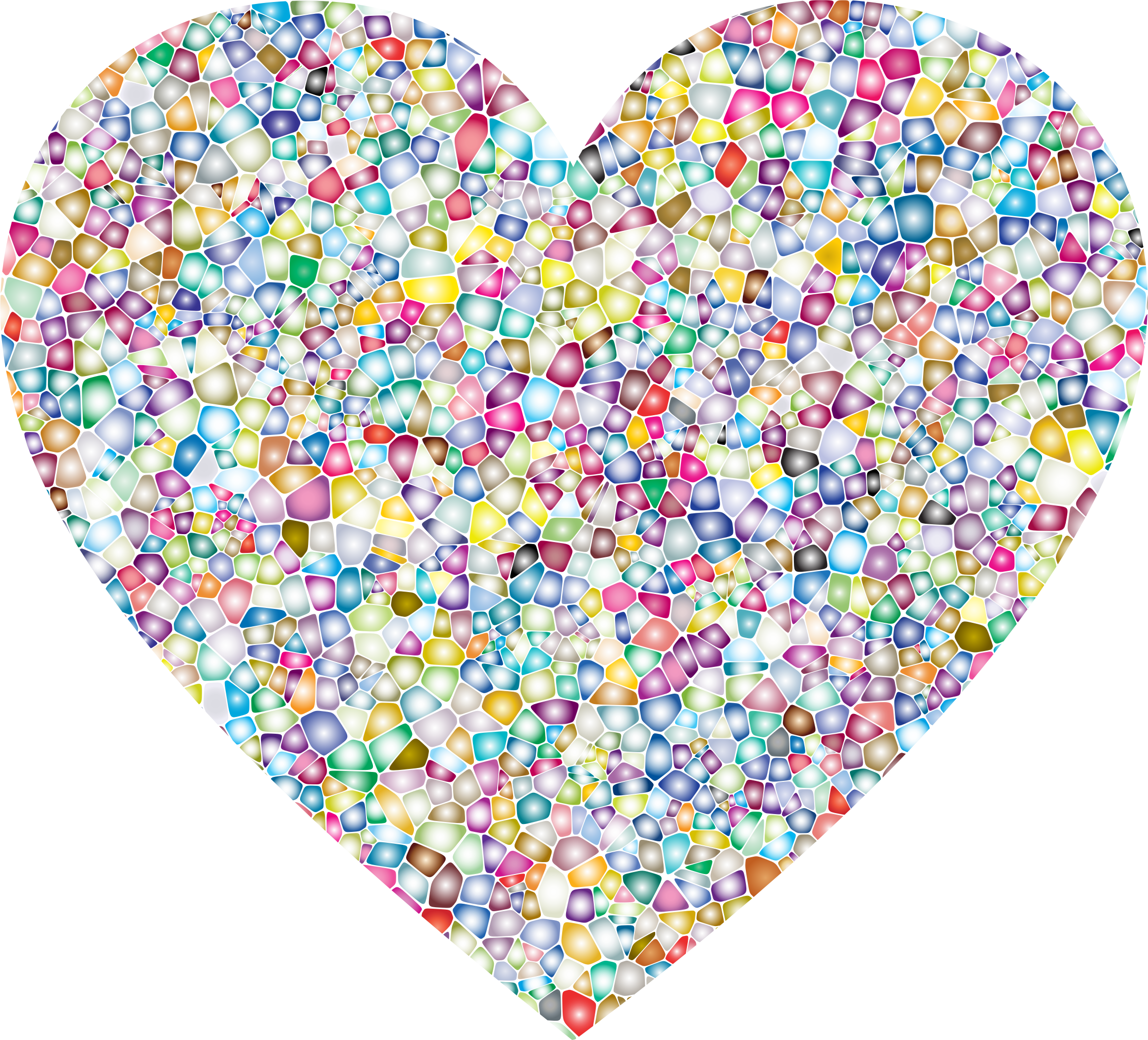 Sweet heart clipart png black and white download Clipart - Sweet Tiled Heart png black and white download