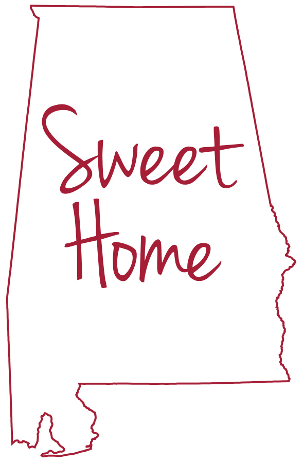 Sweet home alabama clipart picture freeuse stock Sweet Home Alabama\