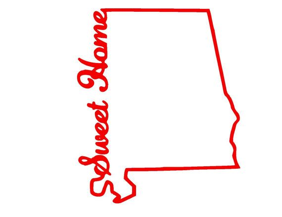 Sweet home alabama clipart jpg transparent stock Alabama clipart outline, Alabama outline Transparent FREE ... jpg transparent stock
