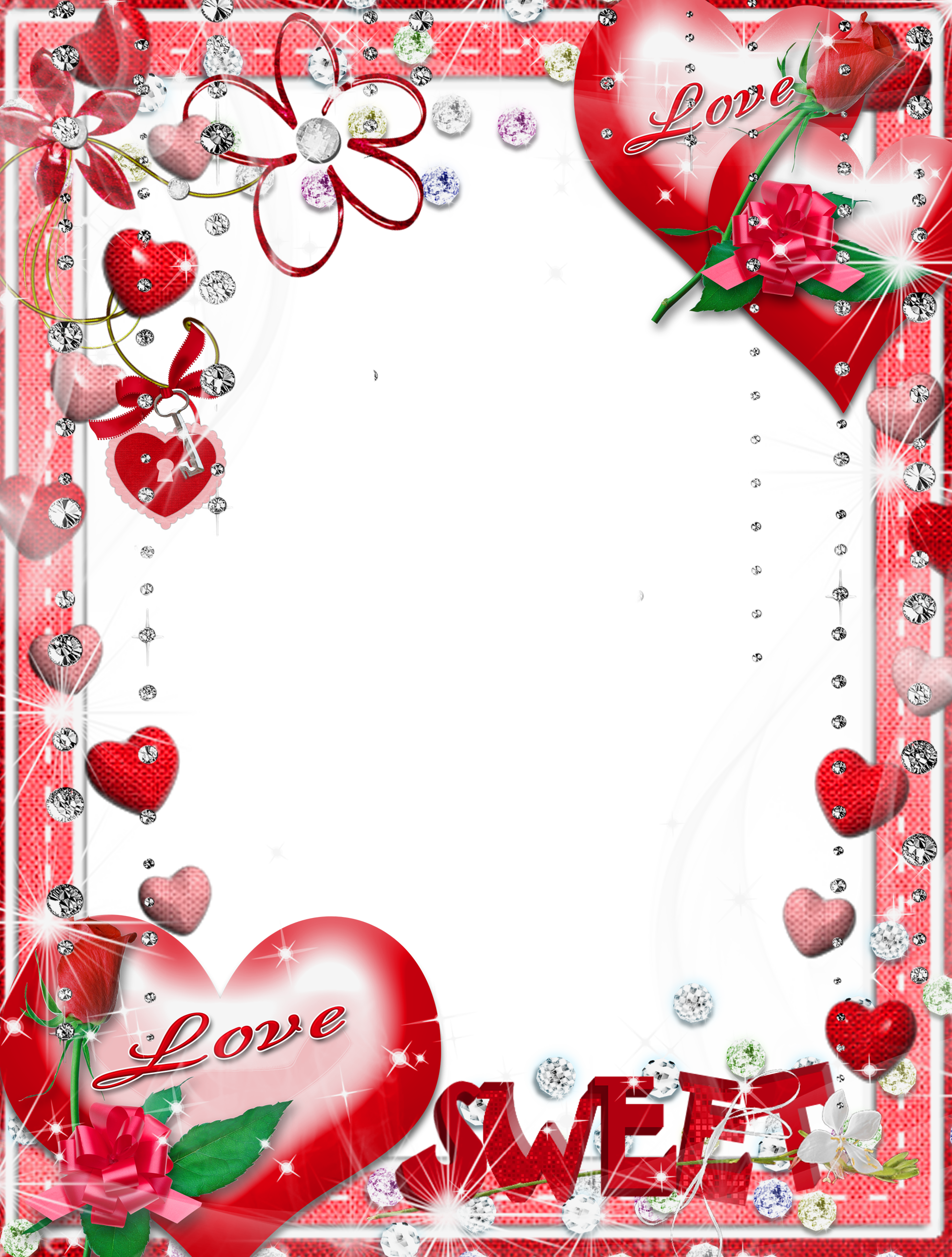 Sweet love clipart vector royalty free stock Sweet Love Transparent PNG Photo Frame | Gallery ... vector royalty free stock
