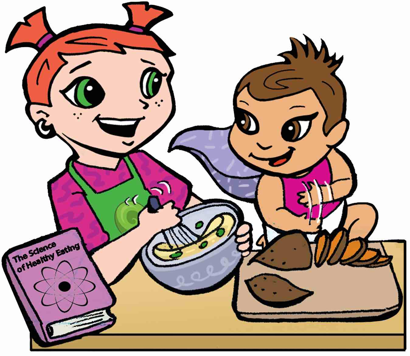 Sweet potato clipart for children clip library download Abby Jessie Cooking sweet potatoes HP | SuperKids Nutrition clip library download