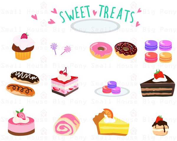 Sweet treats candy clipart images png black and white library Free Sweet Treats Cliparts, Download Free Clip Art, Free ... png black and white library