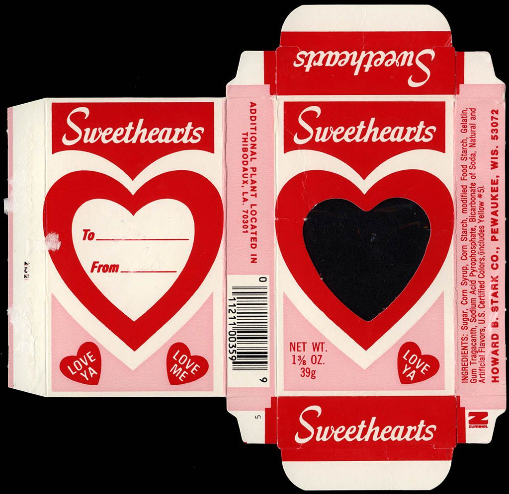 Sweethearts box clipart
