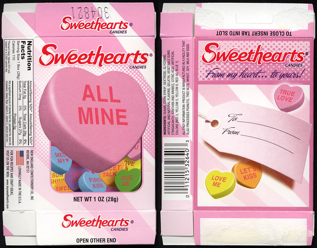 Sweethearts box clipart jpg freeuse library 26 Images of Valentine Candy Hearts To Go With Box Template ... jpg freeuse library