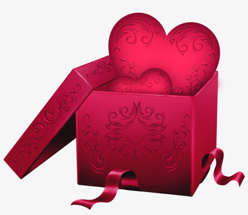 Sweethearts box clipart clip art freeuse stock Transparent Gift Box With Heart Png Clipart - Valentines Day ... clip art freeuse stock