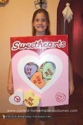 Sweethearts box clipart svg free stock Coolest Homemade Sweethearts Candy Costume | Diy | Candy ... svg free stock