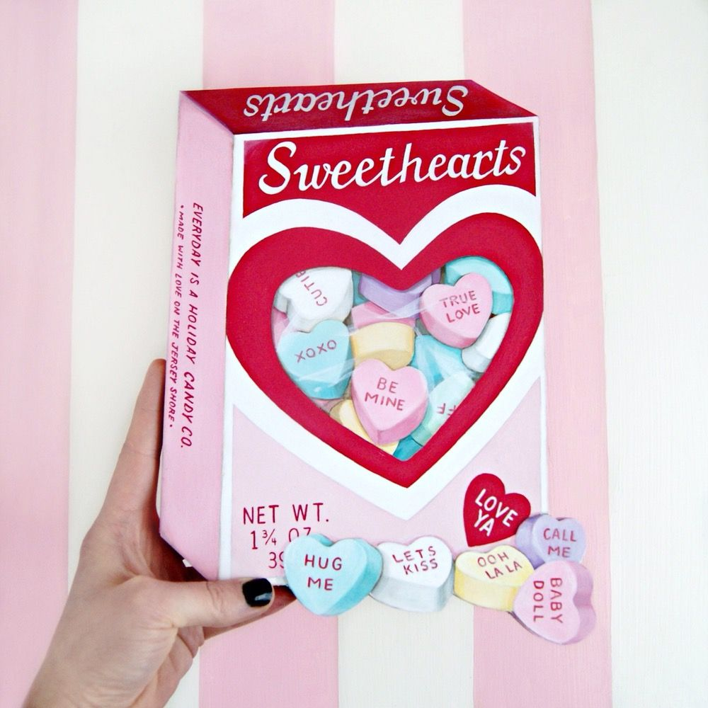 Sweethearts box clipart royalty free stock Image of Sweethearts Candy Box plaque | Door ideas ... royalty free stock