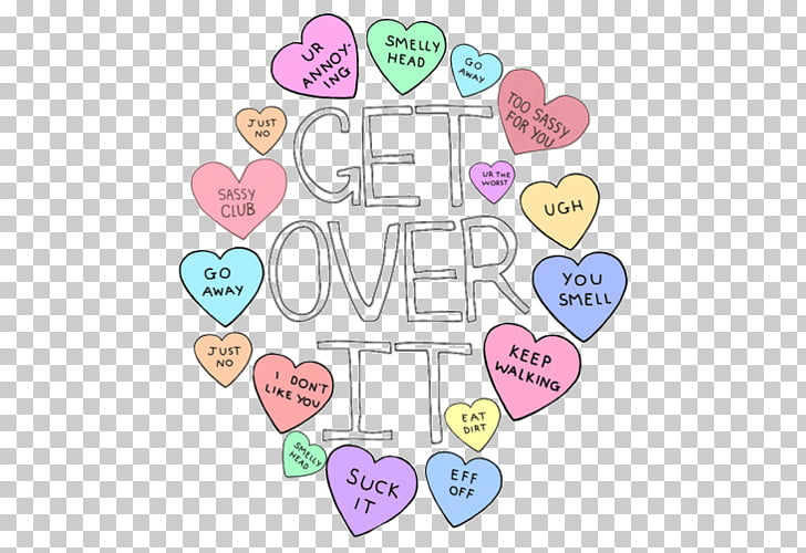 Sweethearts pile of clipart png transparent library Sweethearts We Heart It Drawing Humour, others PNG clipart ... png transparent library