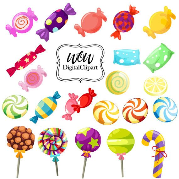 Sweets clipart free clip freeuse download Pin by Marion Thomas on Gingerbread Theme | Candy clipart ... clip freeuse download