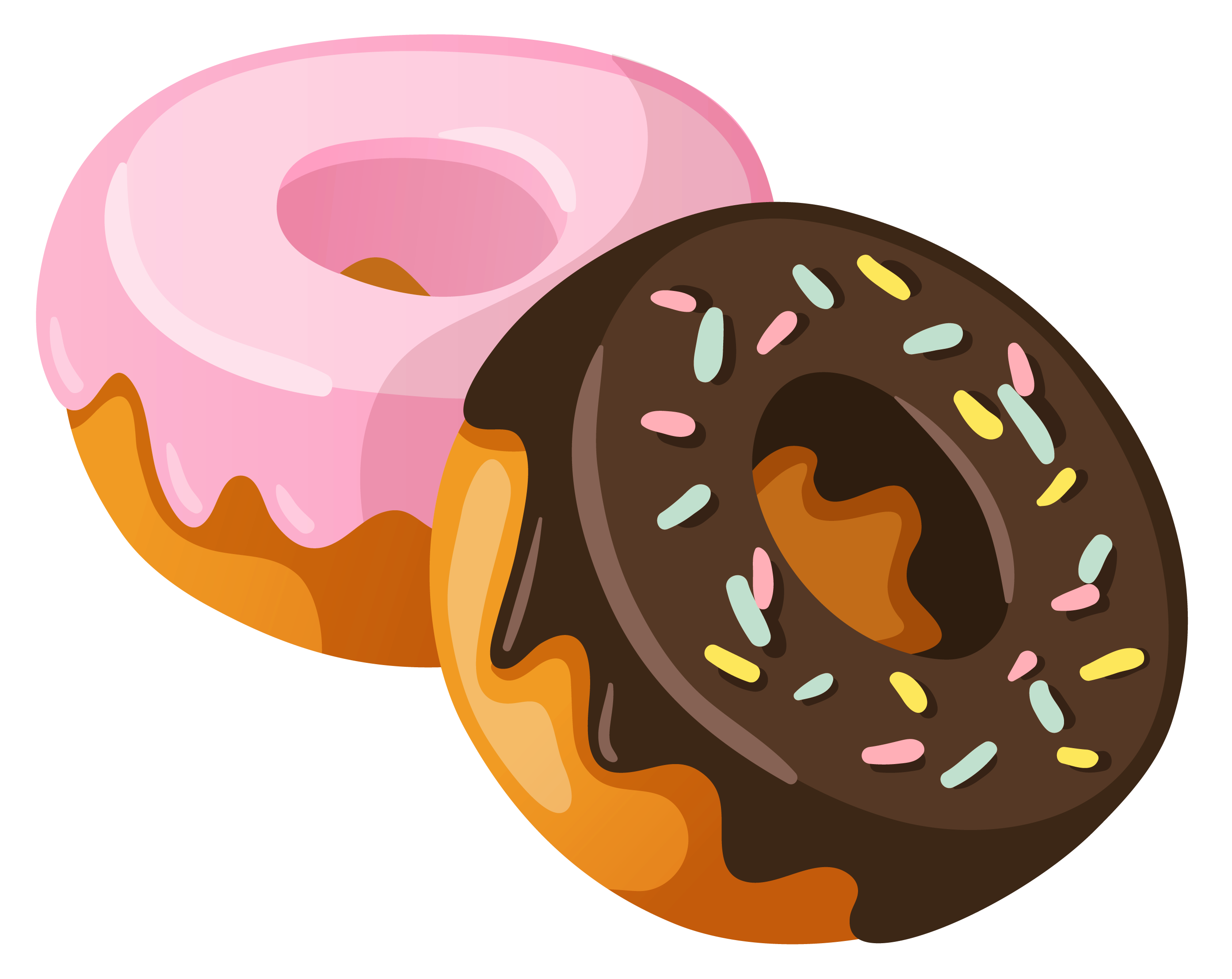 Sweets clipart free royalty free download Donuts PNG Clipart Picture | Gallery Yopriceville - High ... royalty free download