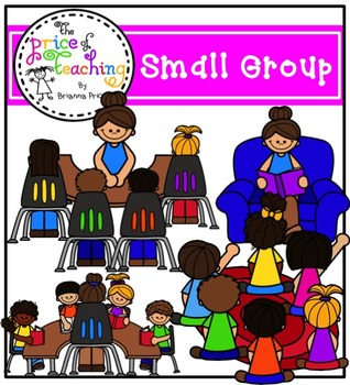 Swellgroup clipart picture freeuse download Small Group Clipart Set (The Price of Teaching Clipart Set) picture freeuse download