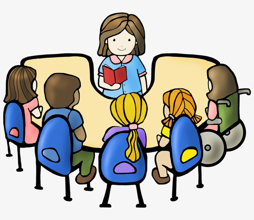 Swellgroup clipart graphic transparent library Reading Group Clipart - Student Clipart Transparent ... graphic transparent library
