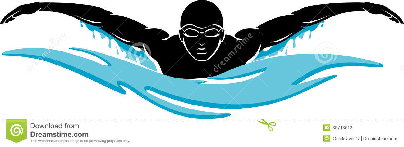 Swim clipart butterly svg black and white download 33+ Swimming Clip Art | ClipartLook svg black and white download