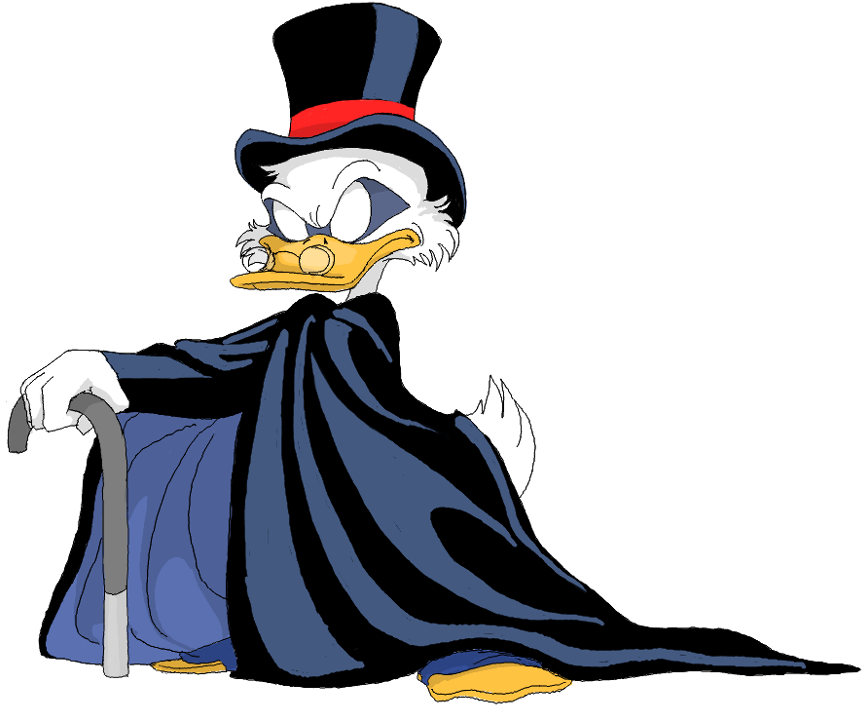 Swim in money clipart picture free library The Masked Topper (yes, that is Scrooge Mcduck's other superhero ... picture free library