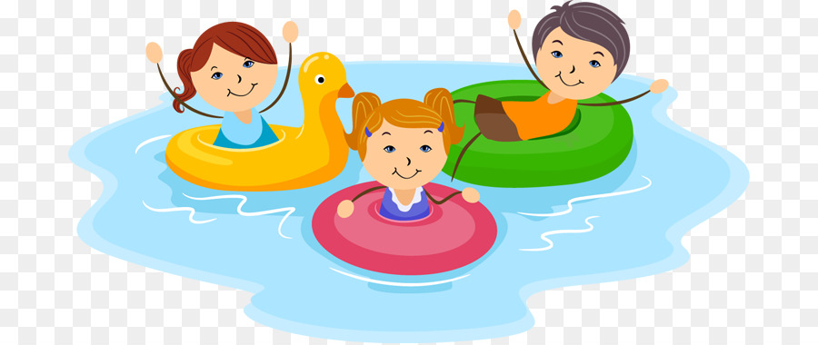 Swim in the pool clipart clip art free download Friendship Day Child png download - 750*378 - Free ... clip art free download