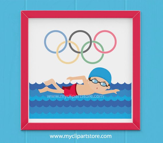 Swim olympic clipart image free Clipart - Summer Olympics Clipart / Swimming / Olympic Games ... image free