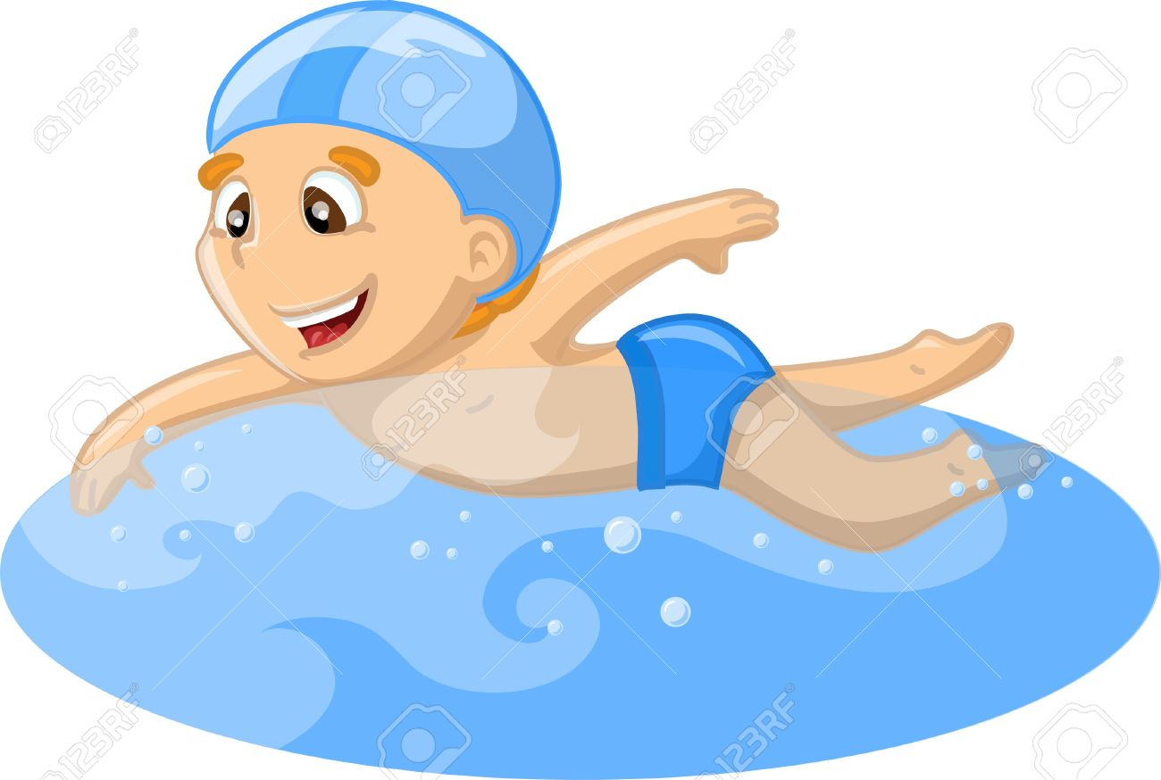 Swim pool clipart boy graphic black and white Kids Swimming Pool Clipart | Free download best Kids ... graphic black and white