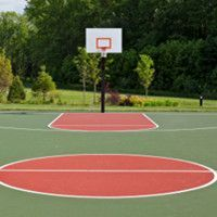 Swim tennis basketball games clipart picture royalty free download 7 Best Basketball Court images in 2014 | Backyard basketball ... picture royalty free download
