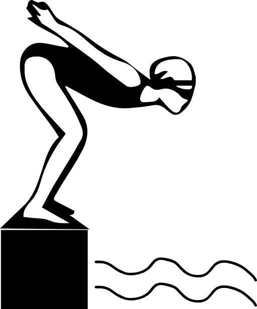 Swimmer clipart silhouette png transparent library 2014 ClipArt Best - Download - silhouette | swim banquet ... png transparent library
