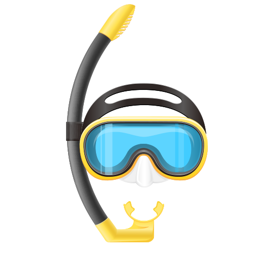 Swimmers mask clipart transparent stock Download Underwater Mask Diving Tools Scuba Swimming Clipart ... transparent stock