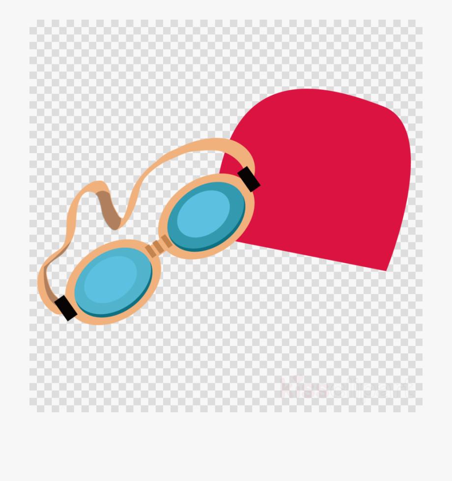 Swimmers mask clipart banner freeuse stock Swim Goggles Clipart - Swim Cap Clip Art , Transparent ... banner freeuse stock