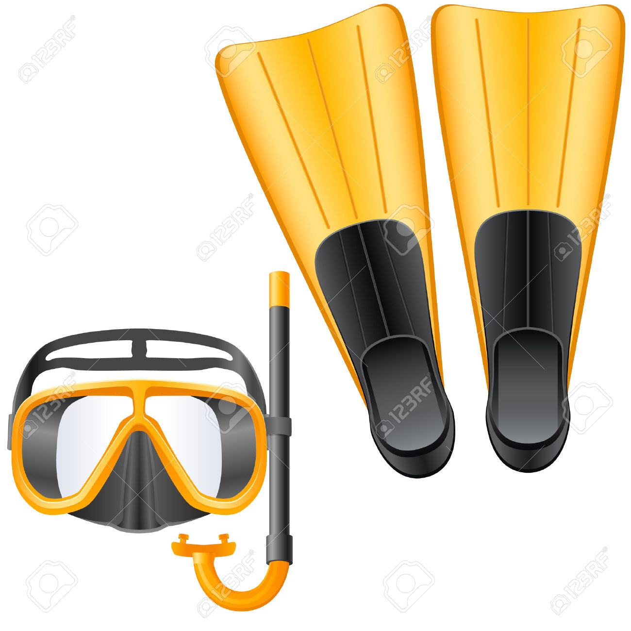 Swimmers mask clipart graphic transparent download Swimming Equipment Clipart & Free Clip Art Images #3472 ... graphic transparent download