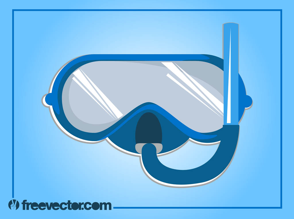 Swimmers mask clipart graphic freeuse stock Swimming Goggles Vector Vector Art & Graphics | freevector.com graphic freeuse stock
