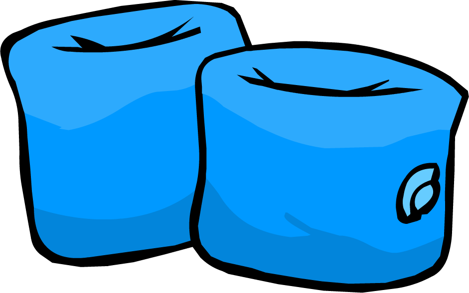 Swimmies clipart svg freeuse download Blue Water Wings | Club Penguin Wiki | FANDOM powered by Wikia svg freeuse download