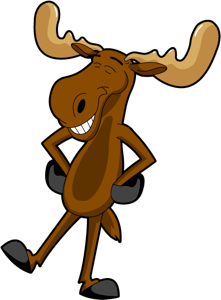 Swimmin moose clipart clip freeuse stock Pin by Selina French on Printables | Moose cartoon, Moose ... clip freeuse stock