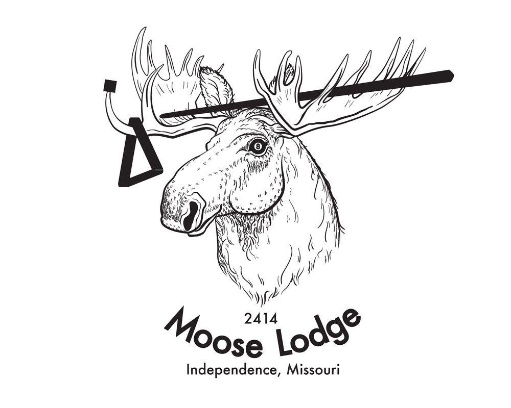Swimmin moose clipart png transparent library moose lodge logo | Logo for Moose Lodge pool team | MOOSE ... png transparent library