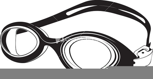Swimming goggles cartoon clipart jpg black and white download Swimming Goggles Clipart | Free Images at Clker.com - vector ... jpg black and white download