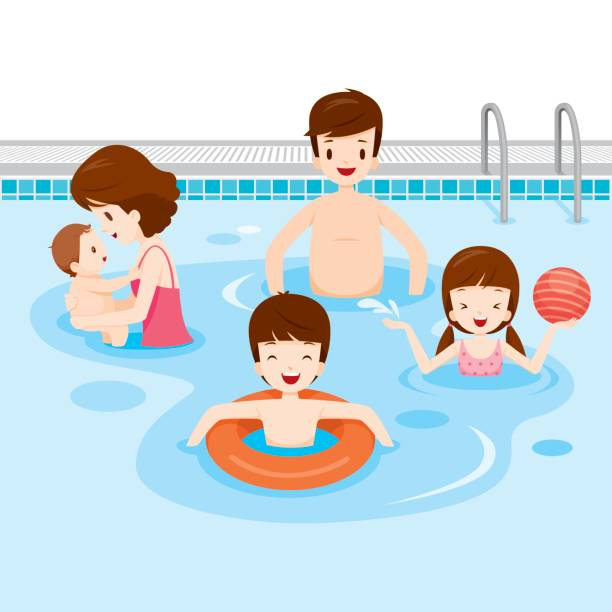 Swimming in the pool clipart jpg black and white library Swimming Pool Clipart 23 - 612 X 612 - Making-The-Web.com jpg black and white library