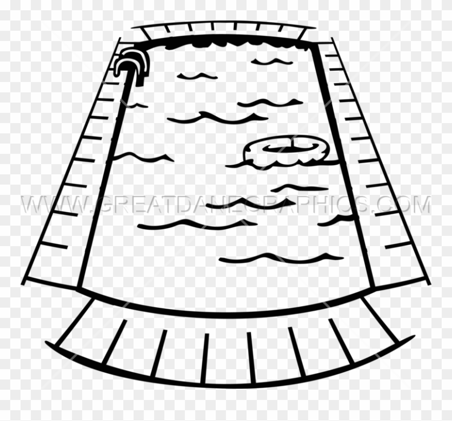 Swimming pool clipart line drawing image stock Swimming Pool - Swimming Pool Line Art Clipart (#198959 ... image stock
