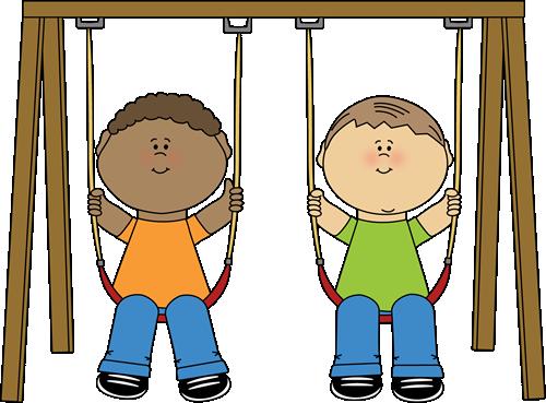 Swind clipart jpg library stock Kids on a Swing Clip Art - Kids on a Swing Image | Clip Art ... jpg library stock