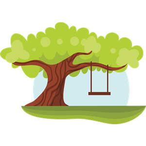 Swing by tree clipart clipart library stock Tree with Swing clipart, cliparts of Tree with Swing free ... clipart library stock