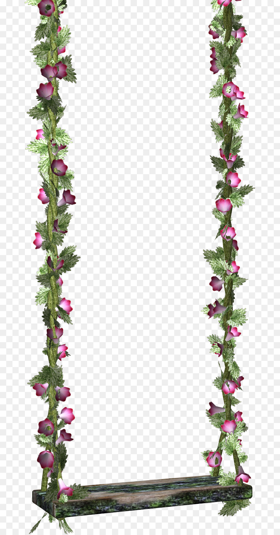 Swing clipart free transparent background clip transparent library Flowers Clipart Background png download - 743*1719 - Free ... clip transparent library