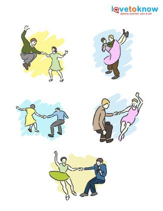 Swing dance clipart svg royalty free Swing Dance Clip Art   LoveToKnow svg royalty free