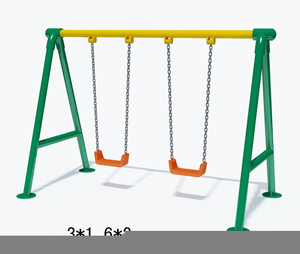 Swing set clipart one swing svg royalty free Swingset Clipart | Free Images at Clker.com - vector clip ... svg royalty free