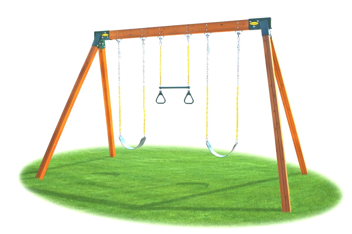 Swing set clipart one swing clip art stock Picture Of A Swing Set 6 - 1200 X 800 - Making-The-Web.com clip art stock