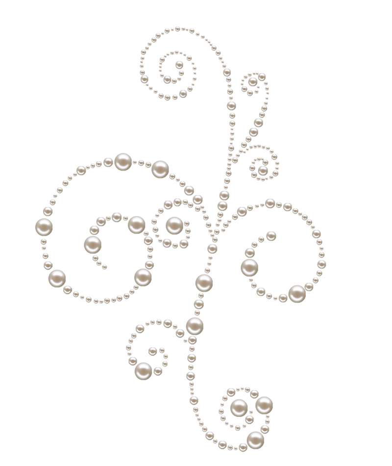 White vintage crown with pearls clipart graphic library Pearl Swirls png by Melissa-tm.deviantart.com on @deviantART ... graphic library