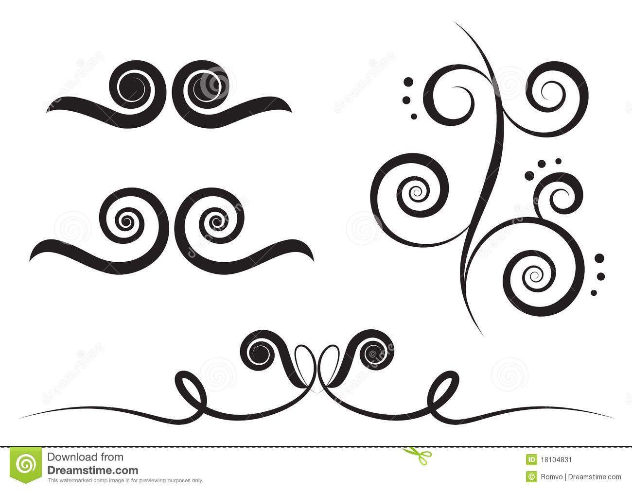 Swirl design clipart free download clip black and white download Simple Swirl Design Clipart - Free Clip Art Images | Face ... clip black and white download