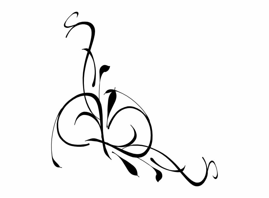 Swirl design clipart free download clipart black and white stock Swirl Design On Pinterest - Funeral Flowers Clip Art Free ... clipart black and white stock