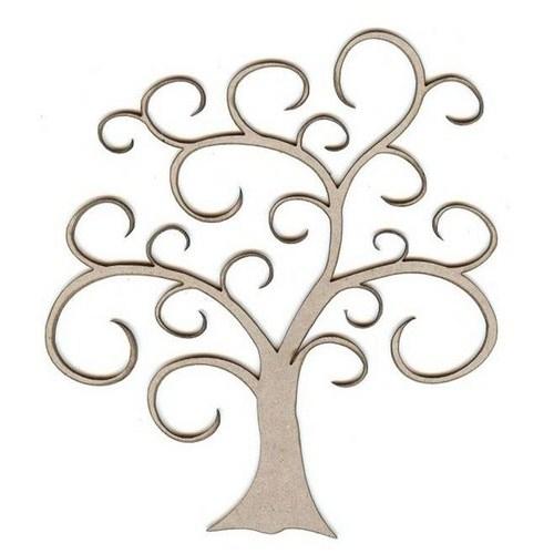 Swirly tree clipart free png library Swirly Tree Clip Art - Clip Art Library png library