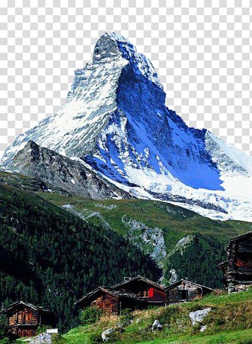 Swiss alps clipart sihllouette image royalty free stock Swiss Alps Gornergrat Zmutt Matterhorn Rhine Falls, Snow ... image royalty free stock